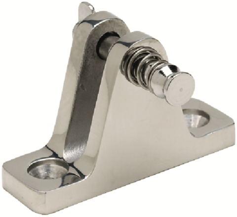 Stainless Steel Deck Hinge w/ Removable Pin