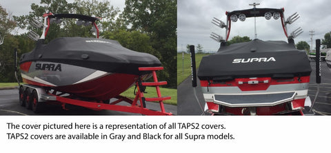 Supra SL Boat Cover - Black (FxONE Tower)