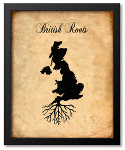 Roots Art - Countries - Map Prints
