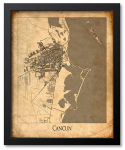 City Map Art - World Map Prints