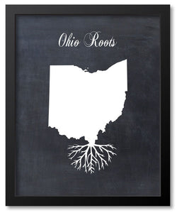 Roots Art - States - Map Prints
