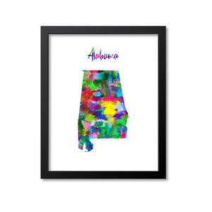 Alabama Watercolor Paint
