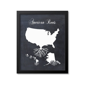 American Roots Print