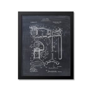 Anesthetic Machine Patent Print