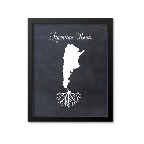 Argentine Roots Print