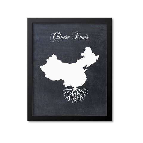 Chinese Roots Print