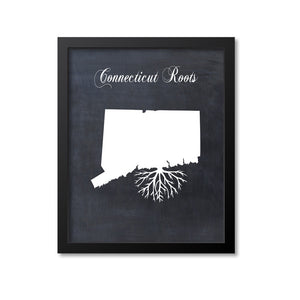 Connecticut Roots Print
