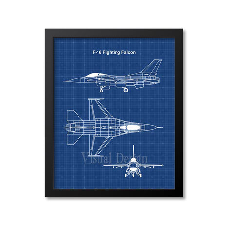F16 Fighting Falcon Patent Print
