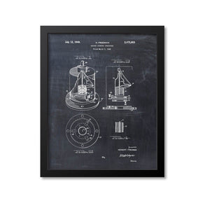 Geiger Counter Patent Print