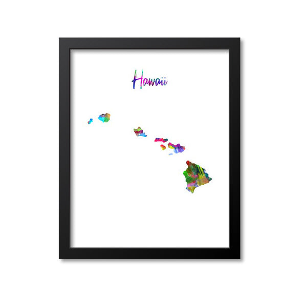 Hawaii Watercolor Paint