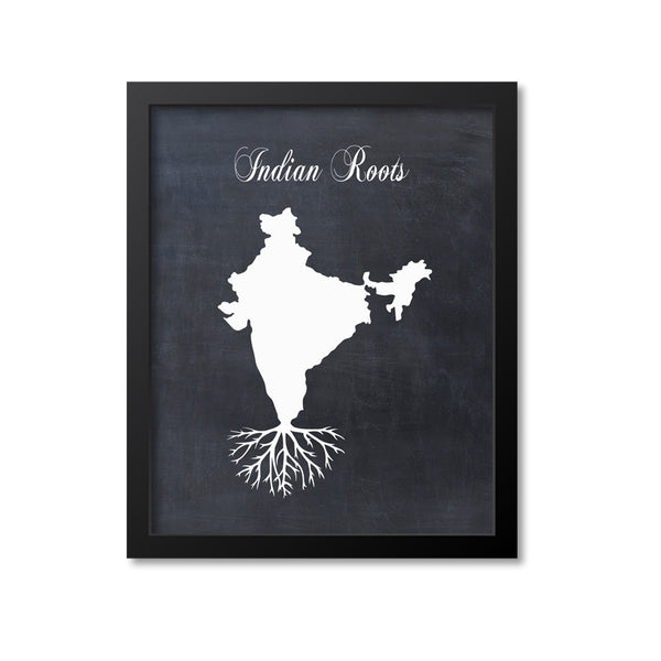Indian Roots Print
