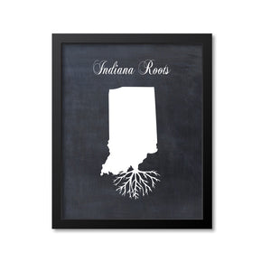 Indiana Roots Print