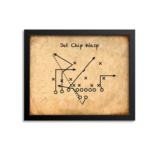 Jet Chip Wasp Kansas City Chiefs Football Play