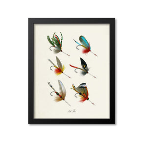 Lake Flies Art Print