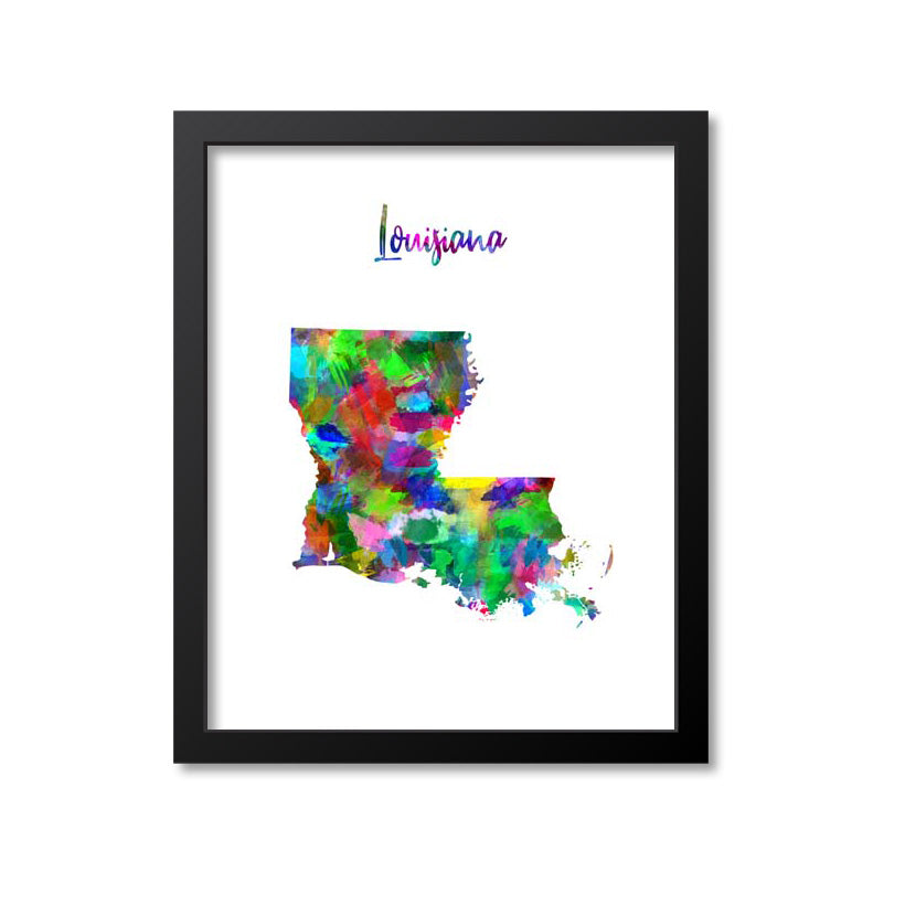 Louisiana Watercolor Paint