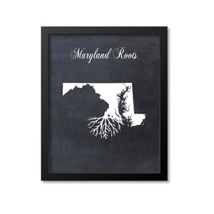 Maryland Roots Print