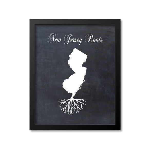 New Jersey Roots Print