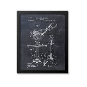 Anchor Patent Print - 1892