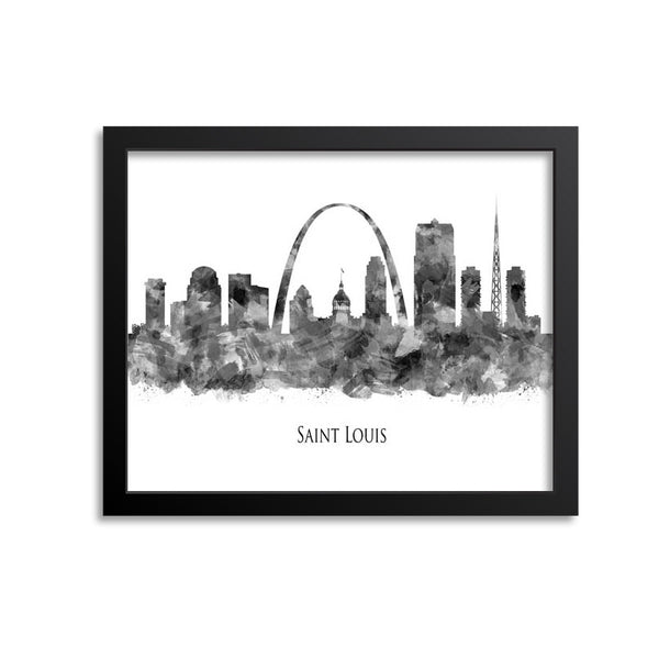 Saint Louis Skyline Painting Art Print
