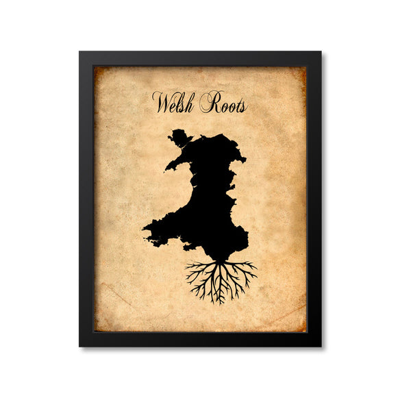 Welsh Roots Print