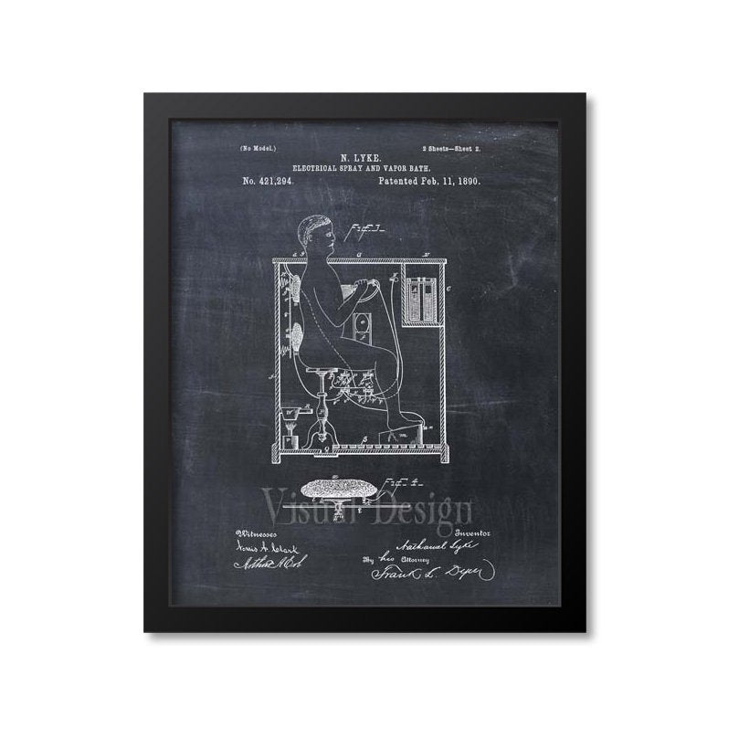 Electrical Spray And Vapor Bath Patent Print