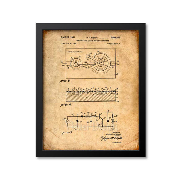 First Semiconductor Patent Print