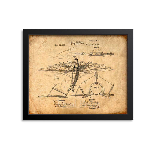 Flying Apparatus Patent Print