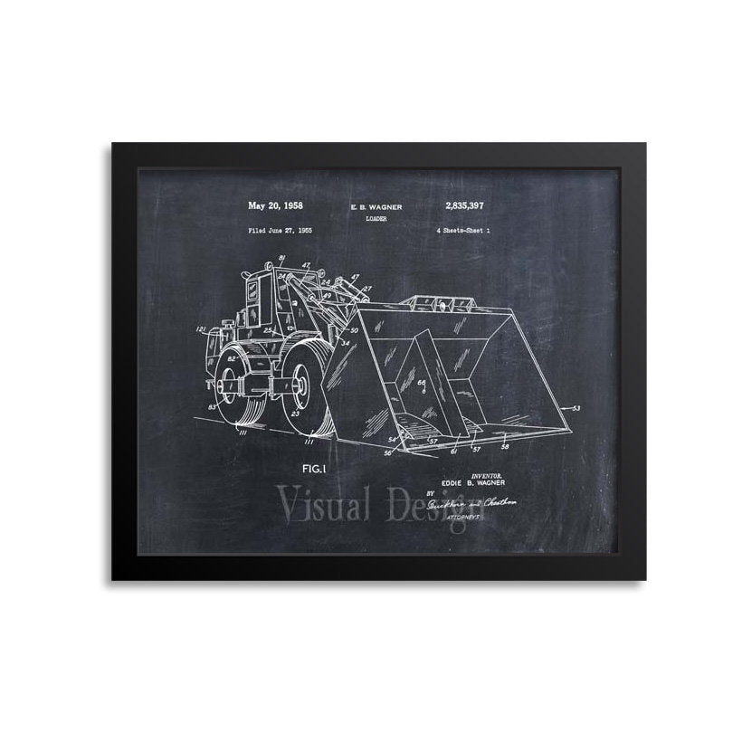 Front End Loader Patent Print