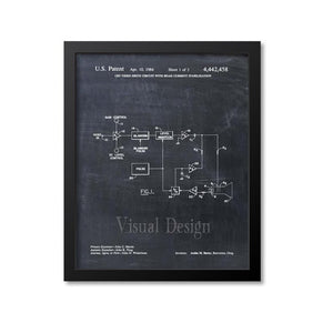 CRT Video Drive Circuit Patent Print