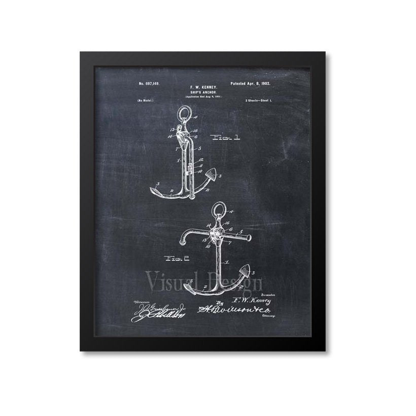 Anchor Patent Print
