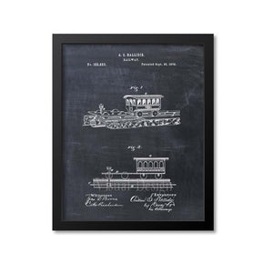 Cable Street Car Patent Print