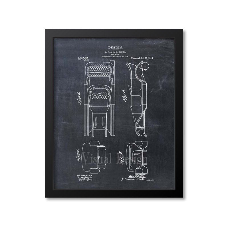 Car Body Dodge Brothers Patent Print