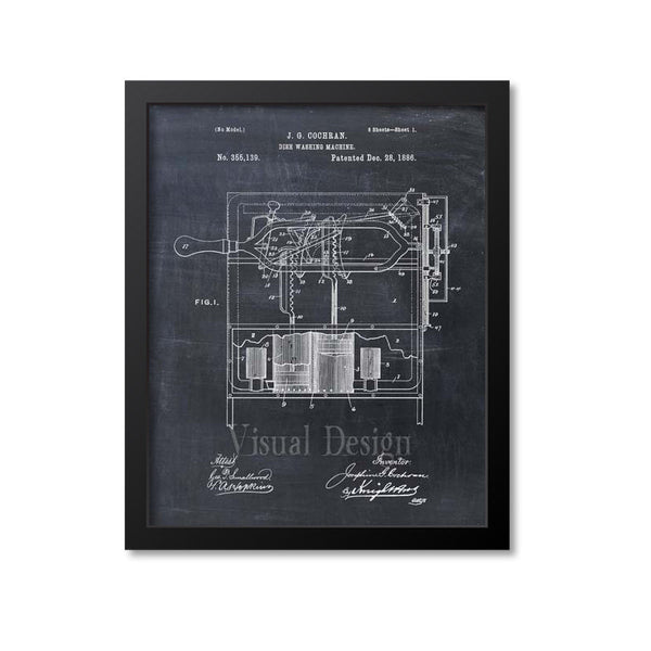 Dishwasher Patent Print