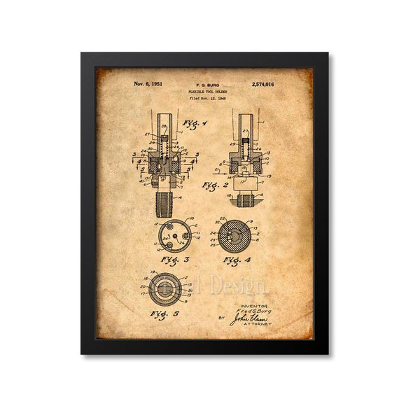 Flexible Tool Holder Patent Print