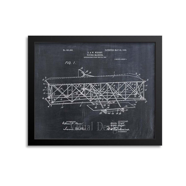 Flying Machine Patent Print