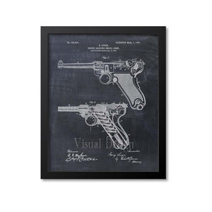 Luger Patent Print