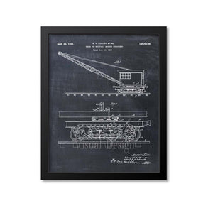 Truck For Rotatably Mounted Structures Patent Print