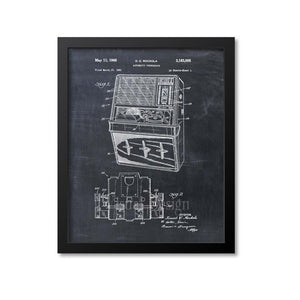 Automatic Jukebox Patent Print