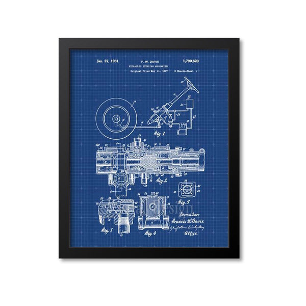 Power Steering Patent Print