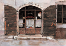 Load image into Gallery viewer, Painting of a door