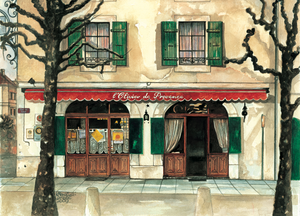 Painting of L'Olivier de Provence in Carouge