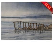 Load image into Gallery viewer, Old Wooden Jetty
