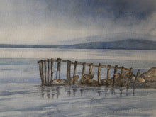 Load image into Gallery viewer, Painting of a jetty