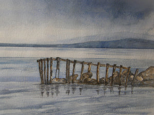 Painting of a jetty