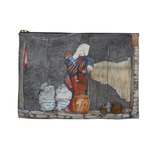 Woman and Child, Manang, Nepal ACCESSORY POUCH