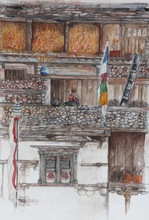 Load image into Gallery viewer, Painting of Nepal