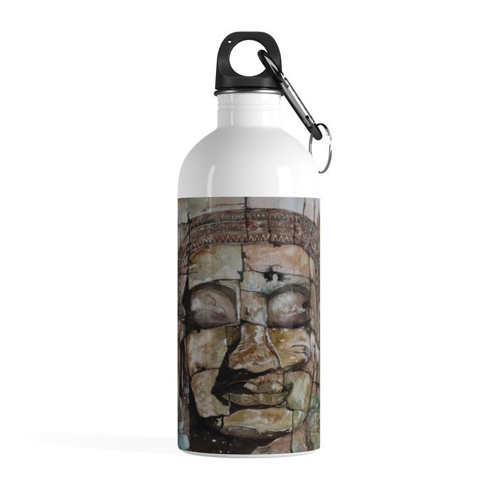 Smiling Stone Face BOTTLE