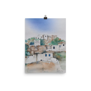 Dovecote on Sifnos POSTER