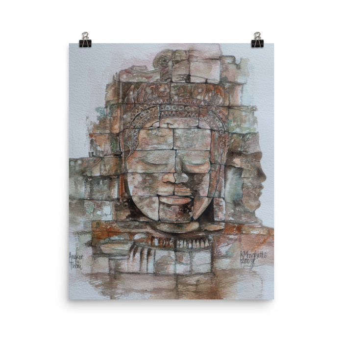 Painting of Angkor Wat