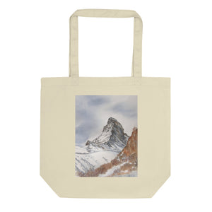 Drawstring Backpack Snow Mountain Mural Bags